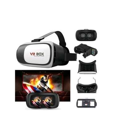 VR BOX Goggles 3D Glasses Google Vr Box Virtual Reality Glasses VRBox Kit - White And Black image 1