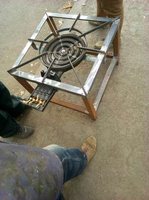 Single gas burner image 1