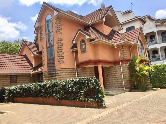 5 bedroom townhouse for rent in Kileleshwa image 19