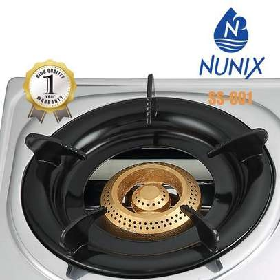 Nunix Gas Cooker Stainless Steel image 2