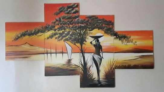 Sungura Art Painting Wall decor Painting On Canvas image 5