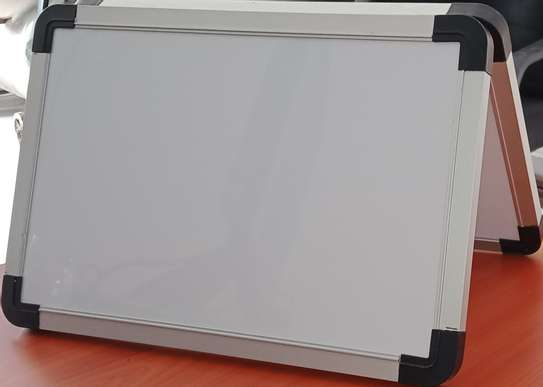 A4 tabletop double sided whiteboard image 1