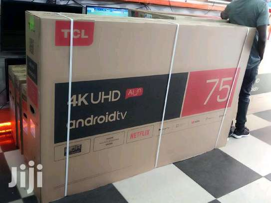 TCL 75 Inch Ultra HD smart (4K)