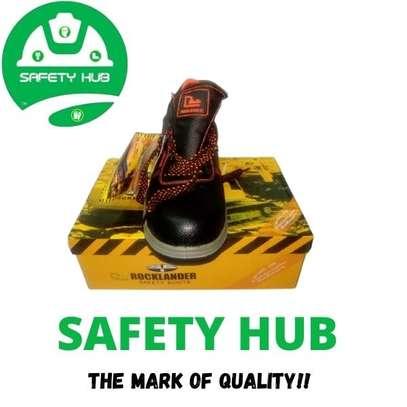 Rocklander safety work boot image 1