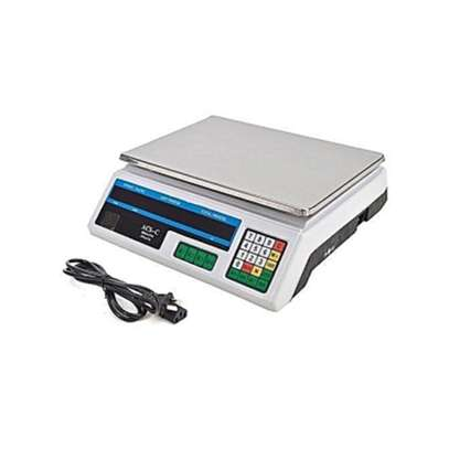 Flat Weighing Scale 30kg image 1
