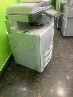 Best ricoh aficio mpc300 colored photocopier image 1