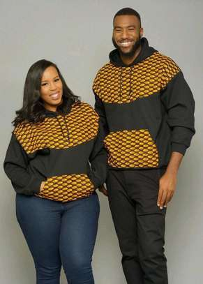 Ankara African Couple Outfit image 4