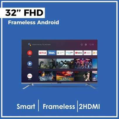 Skyworth 32E20 Smart Android FHD Frameless TV 32 inch image 1
