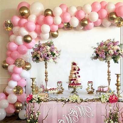 Balloon Arch Garland Decoration services for Baby ShowerWedding Birthday Graduation Anniversary image 3