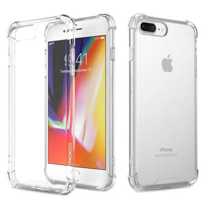 CLEAR SOFT CASE BACKCOVER IPHONE-ULTIMATE TECH image 1