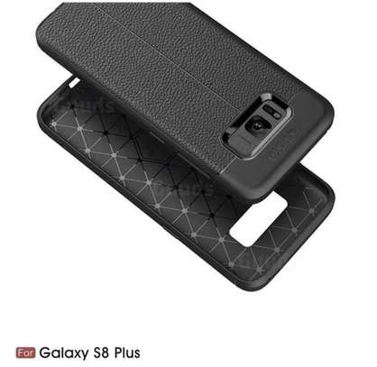 Auto Focus Leather Pattern Soft TPU Back Case Cover for Samsung S8/S8 Plus image 6