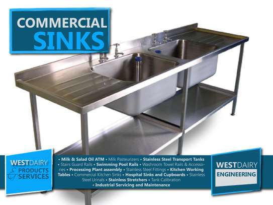 comecial sinks