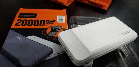 PINENG PN-939 20000mAh  3-Input Powerbank image 5