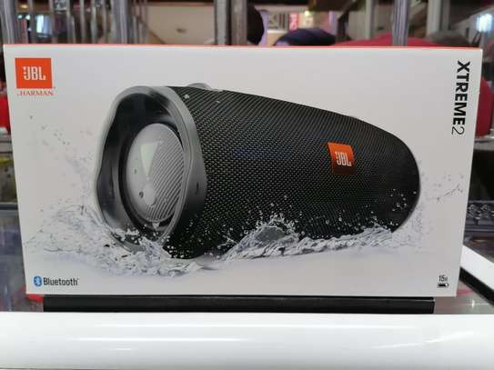 JBL Xtreme 2 - Waterproof Portable Bluetooth Speaker - Black image 2
