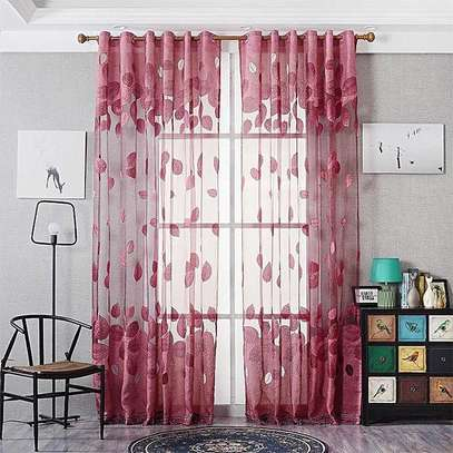 colourful curtains. image 1
