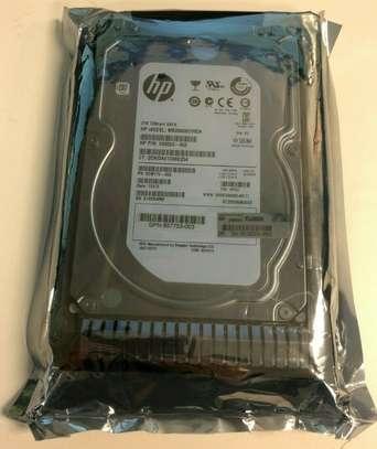 HP 2TB 7200rpm SATA Server Hard Drive image 1
