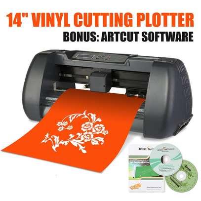 880MM Vinyl Cutting Plotter Machine image 1