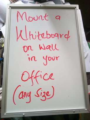 Whiteboards all sizes available - 90x60cm