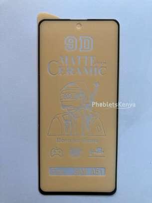 Samsung Galaxy A51 Matte Ceramic film screen Guard image 2