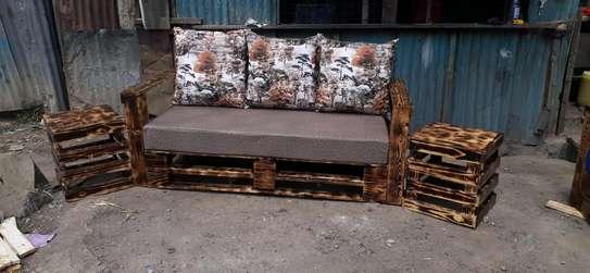 3 seater pallet sofa/3 seater sofa/pallet seats image 2