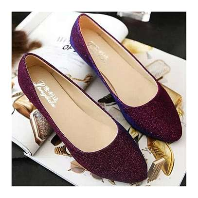 Ballerina Flats Shoes Candy Color image 1