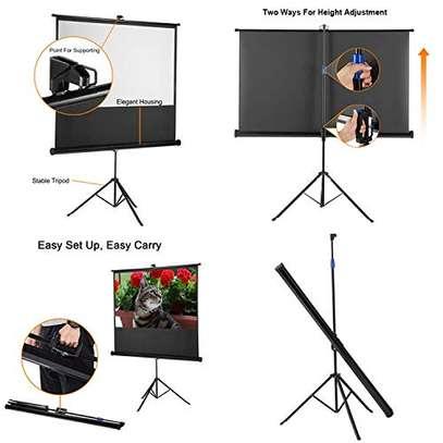 Tripod/portable 70' x 70' Projection Screen image 2