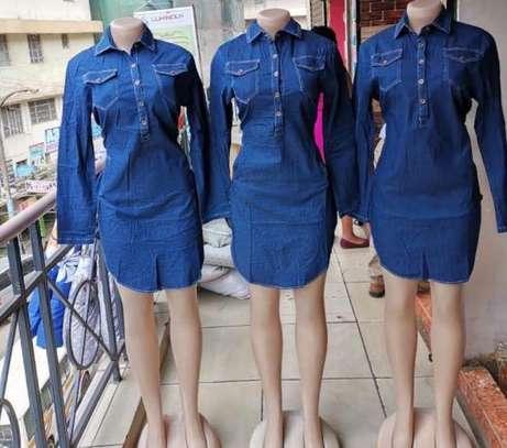 Side slit dress image 1