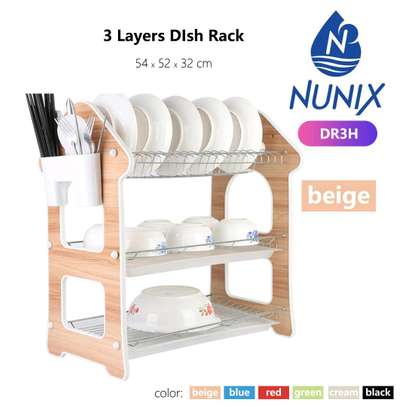 3 layer utensils rack image 1