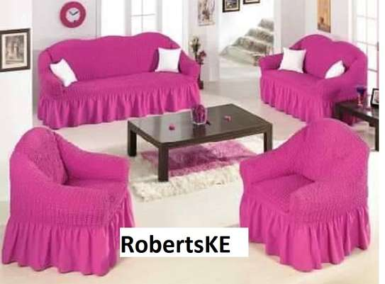 Pink sofa covers image 1
