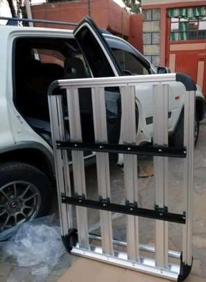 50 x 38 Aluminum Car Roof Rack with Crossbars + Installation image 5