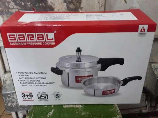 Combo Pressure cooker/5litre saral Pressure cooker/Pressure cooker image 3