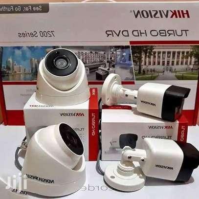 4 CCTV Complete Camera Hik Vision With IR Night Vision image 1