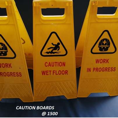CAUTION BOARDS / SIGNAGES