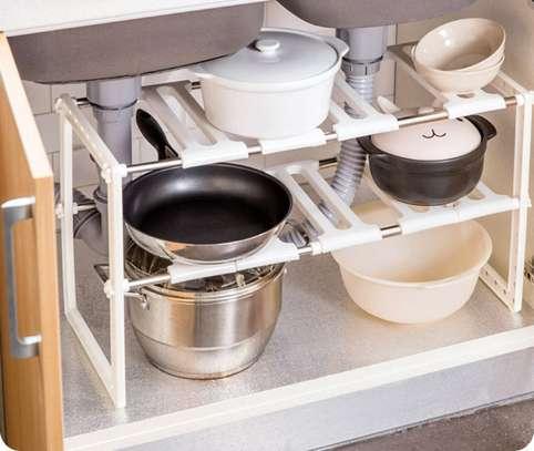 Under sink rack organizer image 1