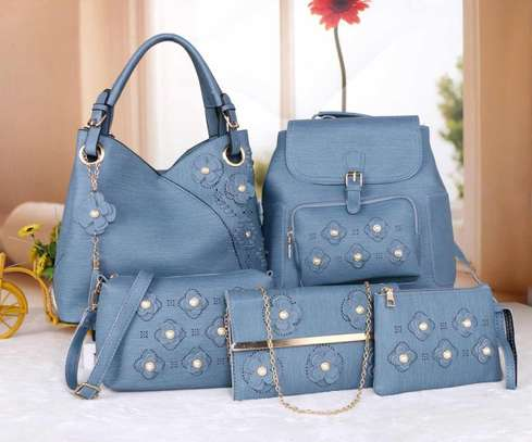 Amazing 5 in 1 Pure leather Handbags image 8