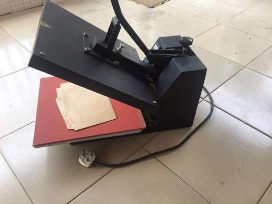 Quality Digital Sublimation Heat Transfer Machine T-Shirt Heat Press image 2