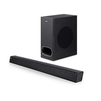 ZOOOK ZM-Studio One - 2.1 CH Sound Bar - 130W  @18,500  #contact0727248120  Key Features Connectivity : Bluetooth, Aux in, USB Flash, Optical in, HDMI (Arc) Speaker Output : 130W ( Sub-woofer 70W + Sound bar 60W) Digital amplifier with DSP inside LED Display Bluetooth Range : 10 meters Remote Control image 1