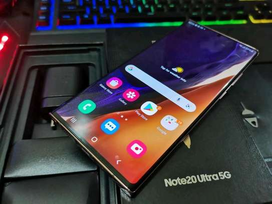 Samsung Galaxy Note 20 Ultra 512 Gigabytes Gold image 2