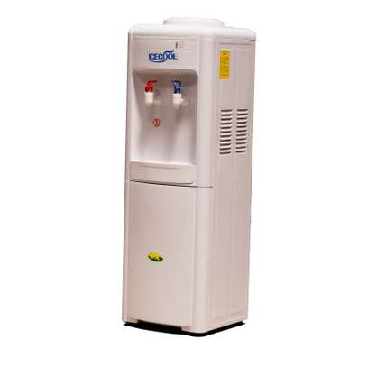 ICECOOL L-20- Hot and Normal Free Standing Water Dispenser- White