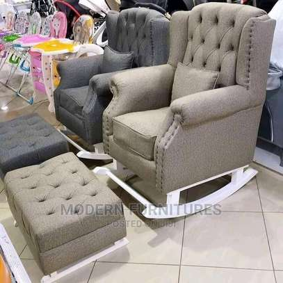 Rocking Chair Seat Withfootrest image 1