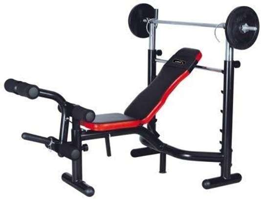 Weight lifting bench