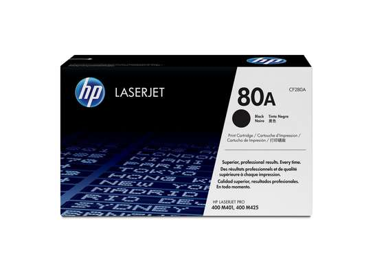 HP  LaserJet Toner No.80A Cartridge - Black image 1