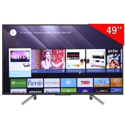 Sony 49 inch Android Smart UHD-4K Digital TVs 49X7500H image 1