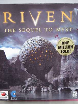 """""""RIVEN"""" THE SEQUEL TO MYST / ORIGINAL COMPUTER GAME! image 2"""