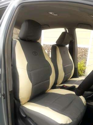 Well puffed car seat covers image 3