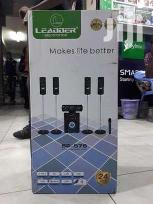 Leadder SP575 Home Theatre System 5.1CH 1000Watts With  Bluetooth image 1