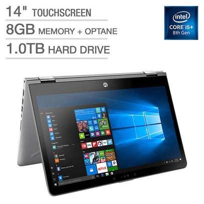 HP Pavilion x360 Corei5 sleek and portable laptop image 1