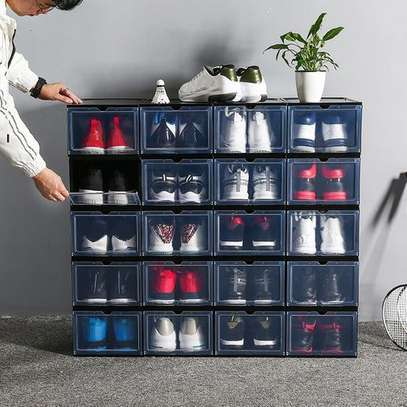 Shoes Storage Boxes Shelf Home Organizer - 20 Boxes image 1