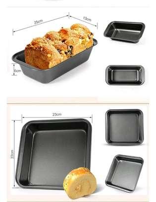 4 set baking tins image 3