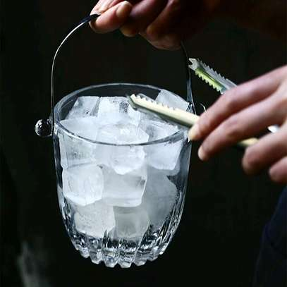 Ice cube bucket glass image 1